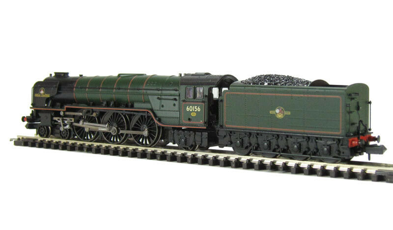 Graham Farish 372801 classe A1 462 60156 'Great Central' BR verde LCrest MIB