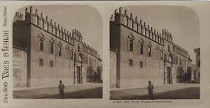 Verona-Facade-Da-L-Arcivescovado-Italia-Foto-Stereo-Vintage-Analogica