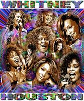 Whitney Houston Tribute T-shirt Or Print By Ed Seeman