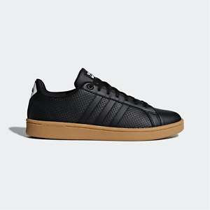 Adidas-Neo-Cf-Advantage-Baskets-Noir-Gum-Chaussures-Homme-Decontracte-Cloudfoam