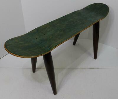 Astonishing Wood Green Skateboard Accent Table Or Stool Game Room Accessory Ebay Caraccident5 Cool Chair Designs And Ideas Caraccident5Info