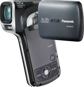PANASONIC-HX-WA10-CAMCORDER-WATERPROOF-HD-SDHC-SD-CARD-HIGH-DEFINITION-VIDEO