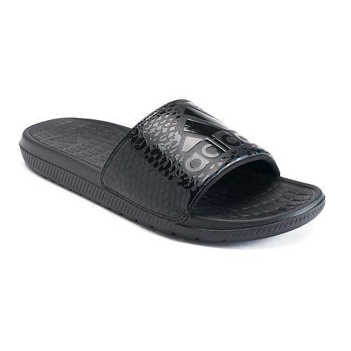 promo code a3c4e c2d33 NWT Adidas Voloomix GR Men s Slide Sandals - Men s Size 12 Black FREE ...