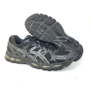 buy popular detailing well known Details about Asics Gel-Kayano 21 Mens 12.5 Black Running Athletic Training  Sneakers Shoes