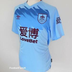 BURNLEY FC Offiziell Umbro Men's Away Football Shirt 2019 ...