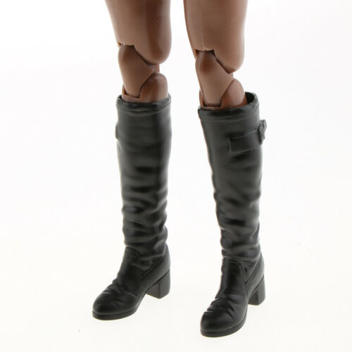 1//6 Scale Female Boots Shoes Model for 12 inch Action Figure Phicen Kumik B#
