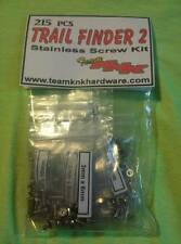 Trail Finder 2 Stainless Steel Kit 215 pieces Team KNK Hardware RC4wd TF2 scx10