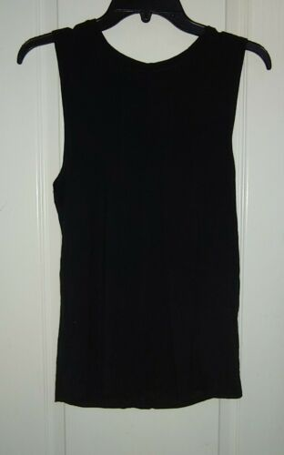 Dharma Bums Black Open Back Athletic Tank Size Sma
