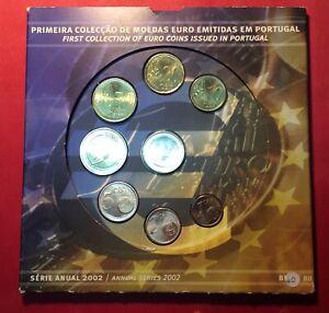 PORTUGAL EURO SERIE 2002 / 2003 B.U. LISBONNE / LISBOA - LOT DEUX PLAQUETTES -