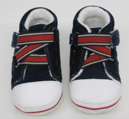 Bebé NIÑO CHICOS CHICAS formadores Azul Rojo Blanco Primera Zapatos 12 Meses Botines