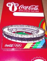 LONDON 2012 OLYMPICS COCA - COLA OLYMPIC STADIUM VENUE PIN BADGE - EXCLUSIVE
