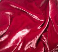 Silk Velvet Fabric - Antique Rose 45 By The Yard