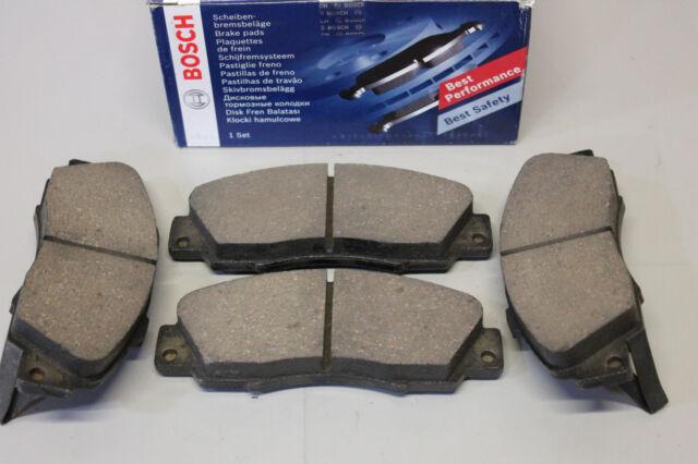 Bremsbeläge Bremsbelag Bremsklötze Bosch 0986461142 Vorne Honda CR-V Rover 618