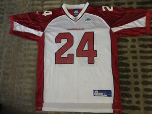 low priced 70bd9 e9689 Details about Adrian Wilson #24 Arizona Cardinals Super Bowl NFL Reebok  Jersey XL mens