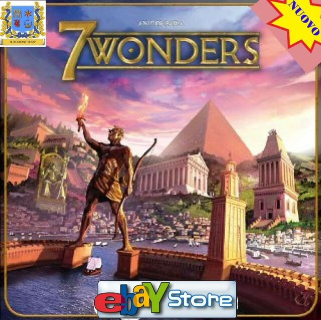 7 Wonders - Gioco Base da tavolo Italiano Nuovo by Asterion Asmodee