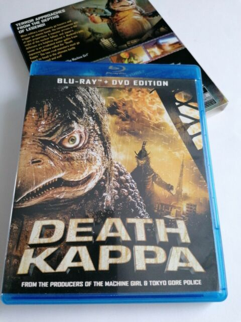 Death Kappa (Blu-ray/DVD 2010) 2-Disc Set With Slipcase Region A