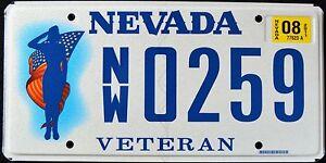 NEVADA-034-WOMAN-VETERAN-034-RARE-034-NV-Military-Specialty-Graphic-License-Plate