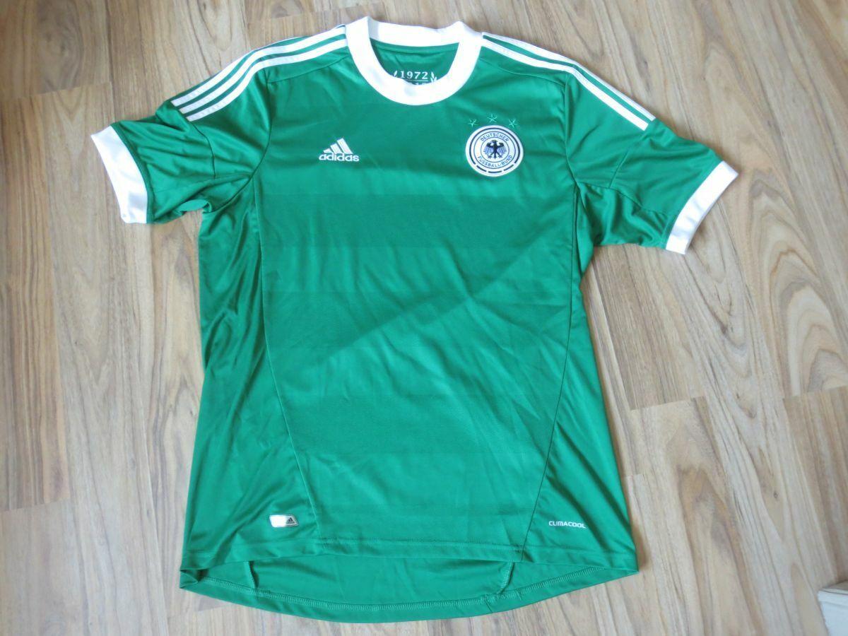 Orig. adidas DFB Deutschland Fußball Trikot grün Gr. L   neuwertig