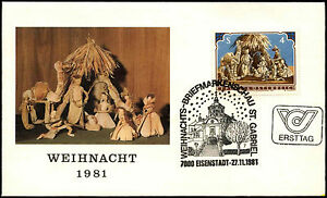 Austria-1981-Christmas-FDC-First-Day-Cover-C36406