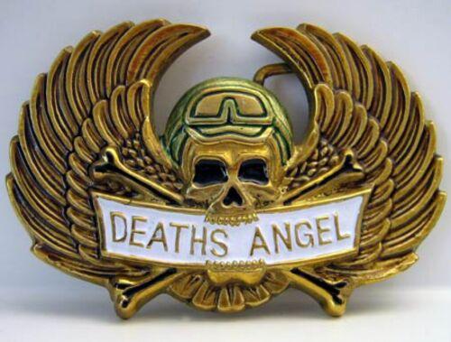 Belt Buckle Biker Skull Skull Brass Buckle Deaths Angel