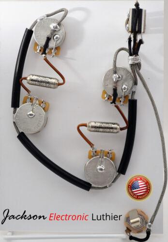 ES-335 Wiring Harness Kit CTS 525k Short Potentiometer .022 uF Vitamin Q Caps