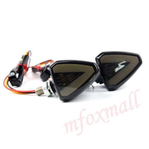 Universal Motorcycle Turn Signal Motorbike LED Light Indicators Blinker Lamp 12V