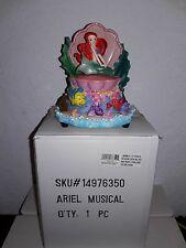 "DISNEY PARKS LITTLE MERMAID ARIEL MUSICAL FIGURINE MUSIC BOX "" UNDER THE SEA """