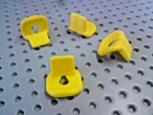 Giallo x4 2610 LEGO Accessorio Giubbotto di salvataggio