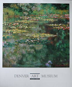 Monet-Water-Lilly-Pond-Offsetdruck