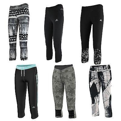 Adidas Performance 3/4 Damen-Sporthose Tracksuit Bottoms Capri Pants Tight  | eBay