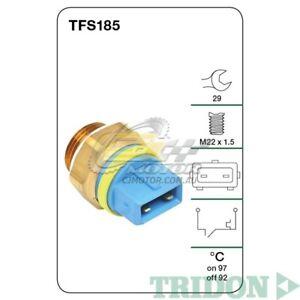 TRIDON-FAN-SWITCH-FOR-Peugeot-406-09-96-12-99-2-0L-XU10J4-Petrol-TFS185
