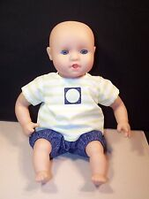 """Clothes for 11""""-13"""" Baby Doll Boy Shirt Shorts Corolle Melissa & Doug 2+"""