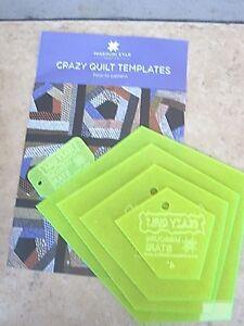 Crazy-Quilt-Templates-for-4-034-6-034-9-034-12-034-Blocks-amp-Pattern-Missouri-Star-Quilt-Co