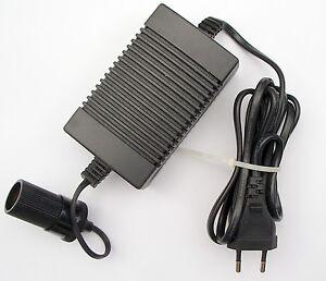 netzteil adapter auto k hlbox mini k hlschrank 12 v 12v ebay. Black Bedroom Furniture Sets. Home Design Ideas