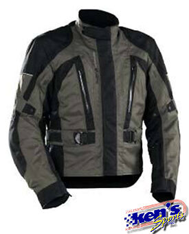 CASTLE-X STREET WEAR ANTHRACITE QUEST MOTORCYCLE JACKET