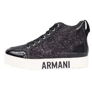 Armani-Exchange-Scarpe-donna-sneakers-XDZ002-nero