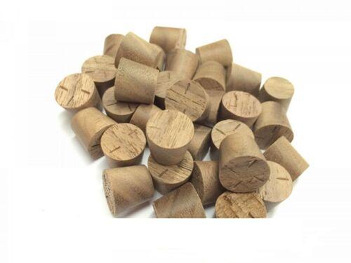12mm American Black Walnut Tapered Pellets//Plugs