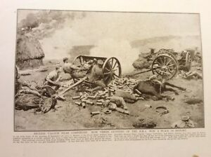 m17c6-ephemera-ww1-picture-british-r-h-a-hold-out-at-compiegne-1914