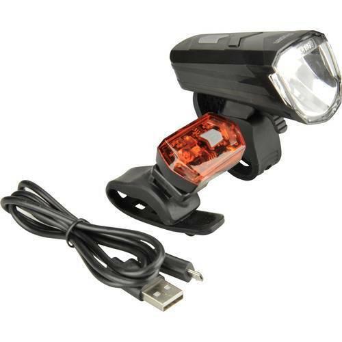 Fischer fahrrad kit illuminazione bicicletta 85344 led monoColor a batteria