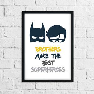 Garcons-Chambre-imprimes-pour-Brothers-Batman-Pictures-Home-Decor-Super-heros-Robin