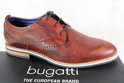 Bugatti Sneaker Echtleder Halbschuhe Schnürer braun K1004-PR83-683 Neu8