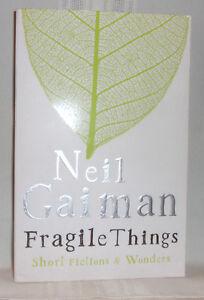 Neil Gaiman FRAGILE THINGS British First ed Trade Paperback