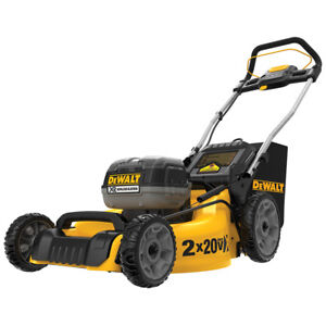 DeWALT-DCMW220P2-20-Volt-20-Inch-5-0Ah-3-in-1-Easy-Storage-Metal-Deck-Lawn-Mower
