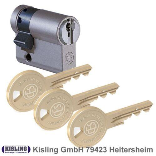 CES 810 DU Sicherheits Profilzylinder Knaufzylinder Halbzyl gleichschliessend