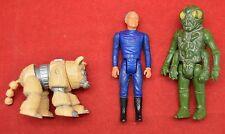 Rare Vintage Mattel BATTLESTAR GALACTICA Lot of 3 Figures Daggit Ovion Adama
