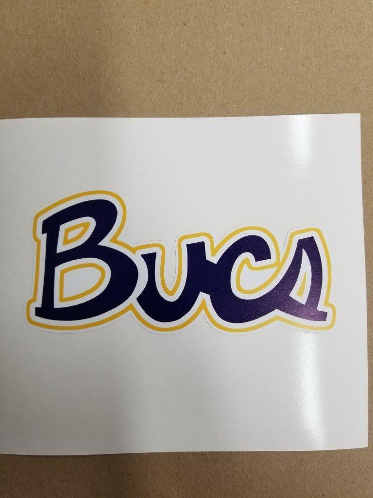East Tennessee State Buccanerrs Cornhole board or vehicle window decal(s)ET4