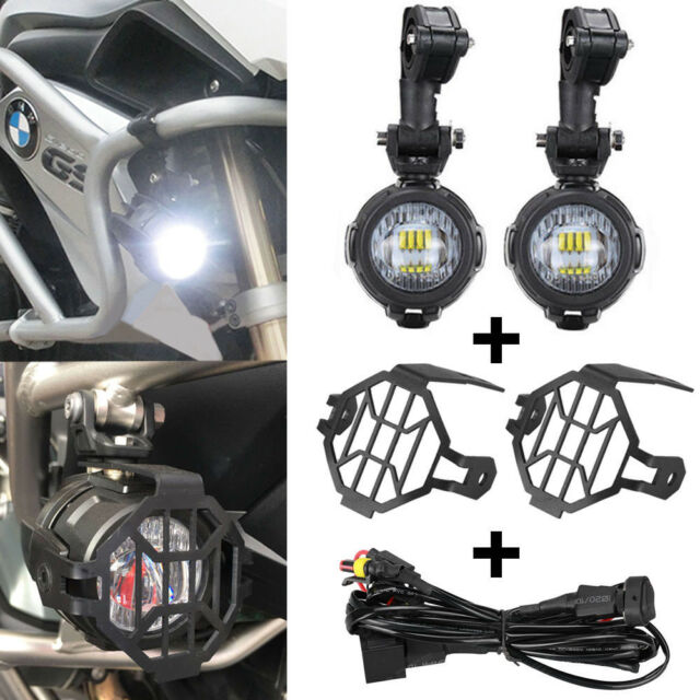 Miraculous Led Auxiliary Fog Lamp Protect Guards Wiring Harness Combo For Bmw Wiring Cloud Hisonuggs Outletorg