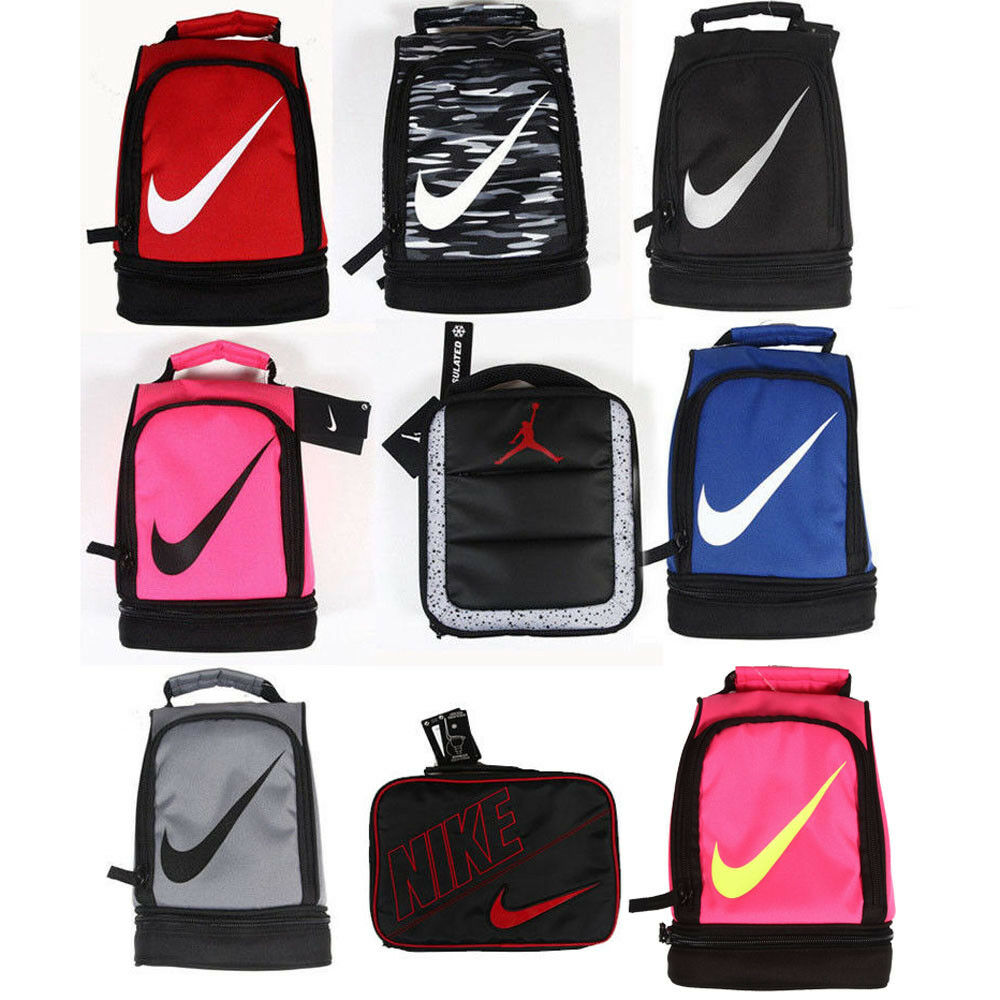 Nike Lunch Box Bag Tote Two Compartments Insulated