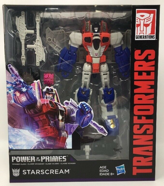 Transformers Generations Power of the Primes Voyager Class- Starscream