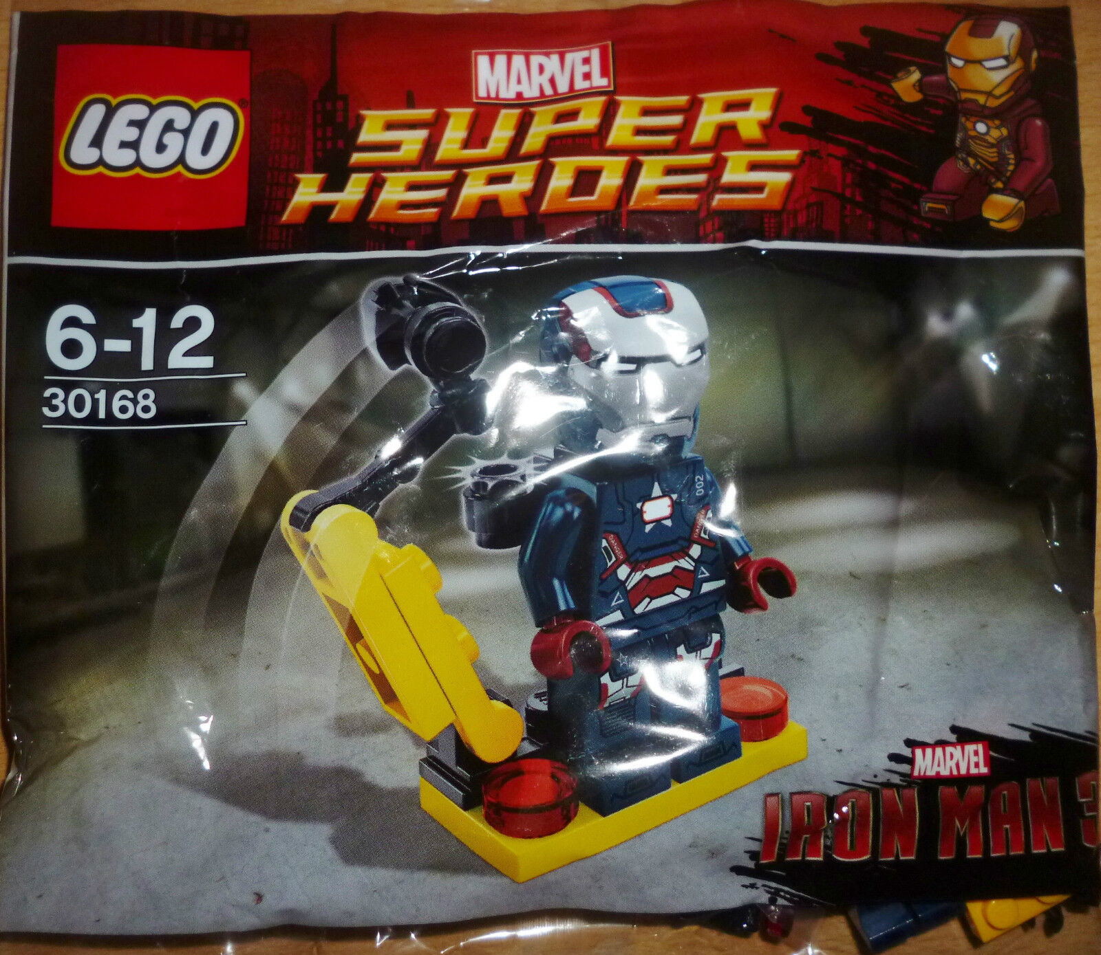 LEGO 30168 IRON MAN 3 PATRIOT SUPER HEROES POLYBAG NUOVO OVP